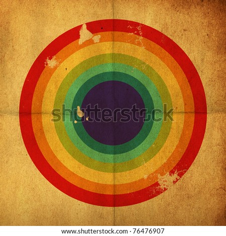 Retro background, vintage style - stock photo
