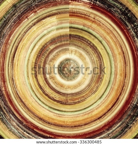 Retro background with grunge texture. With different color patterns: yellow (beige); brown; red (orange); black - stock photo