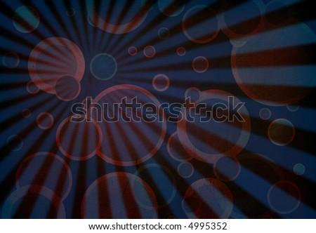 Retro background with light - stock photo
