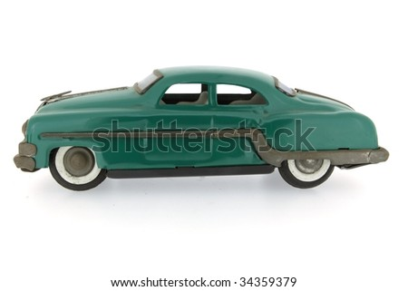 retro car - stock photo