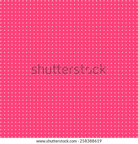 Retro dots on pink background. Abstract geometric seamless pattern or texture. For desktop wallpaper, web design, cards, invitations, wedding or baby shower albums, arts and scrapbooks. - stock photo