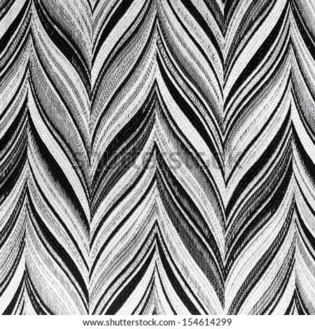 Retro geometric textile pattern - stock photo