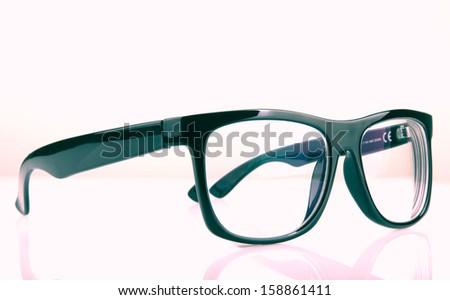 Retro Glasses - stock photo