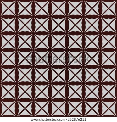 Retro gray brown seamless background, raster version - stock photo