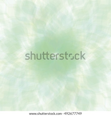 Retro green pastel flowers background