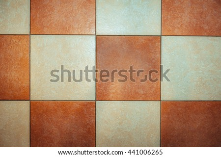 Retro grunge chessboard background texture. marbled squares - stock photo