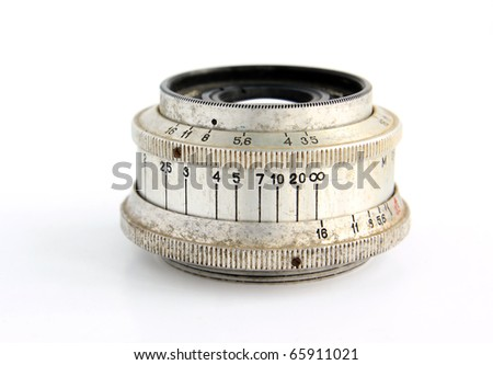 retro lens - stock photo