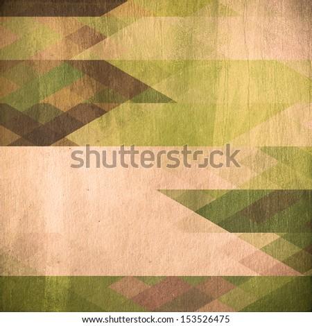 retro mosaic background, grunge  paper texture - stock photo