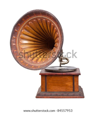 gramophone interior stock photo 274347737 shutterstock. Black Bedroom Furniture Sets. Home Design Ideas
