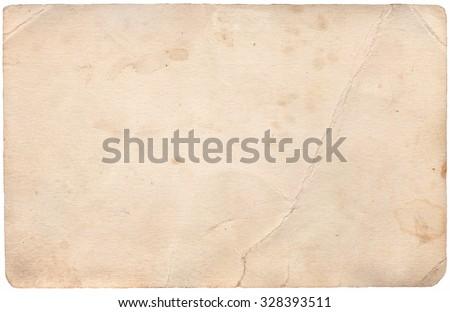 Retro Paper Background - stock photo