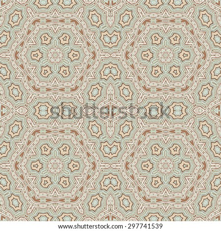 Retro pattern of  colorful abstract  seamless  geometric wood background for decorative wallpaper - stock photo