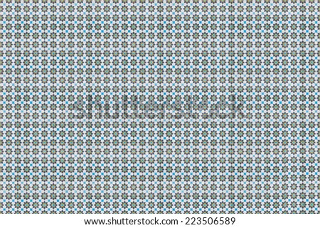 Retro pattern of wall tiles background - stock photo