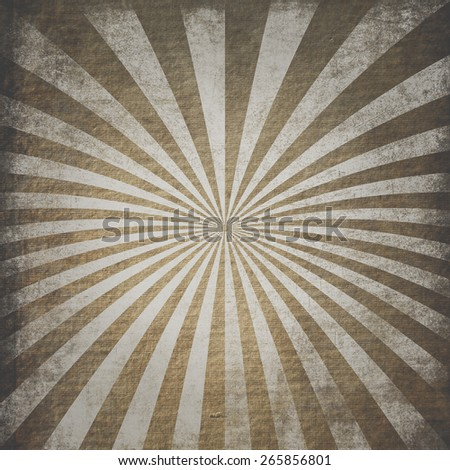 retro ray pattern background - stock photo