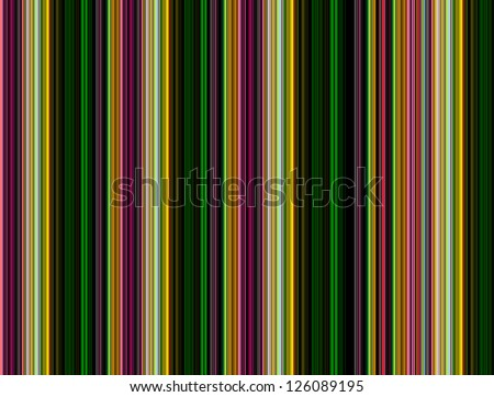 Retro (seamless) stripe pattern with stylish colors - stock photo