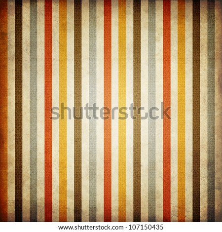 Retro stripe pattern - stock photo
