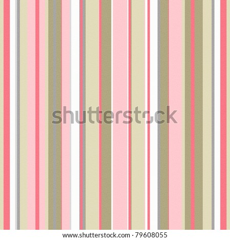 Retro stripe pattern in beige  and pink - stock photo