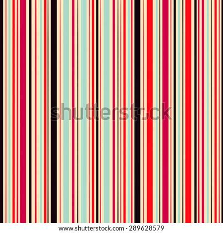 Retro stripe pattern. Seamless stripe pattern in retro style. Grunge pattern. Vintage striped background. - stock photo