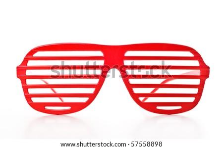 Retro sunglasses - stock photo