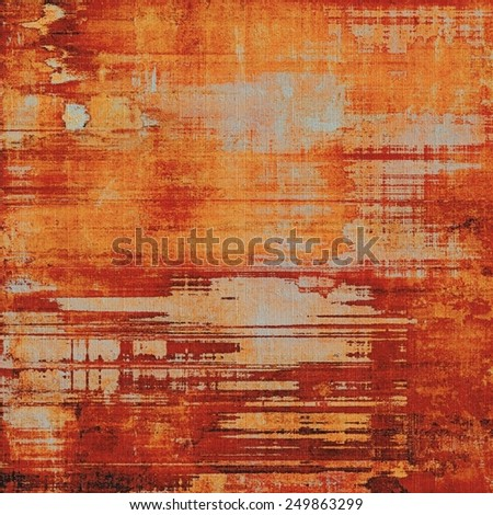 Retro texture. With different color patterns: yellow (beige); brown; red (orange) - stock photo