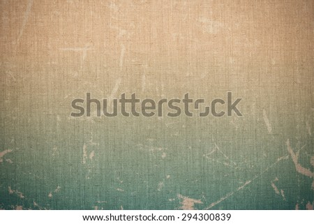 Retro vintage backgrounds. linen rough canvas texture, worn pape. - stock photo