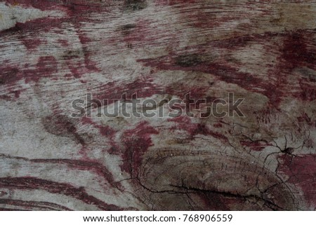 Retro wooden background texture red