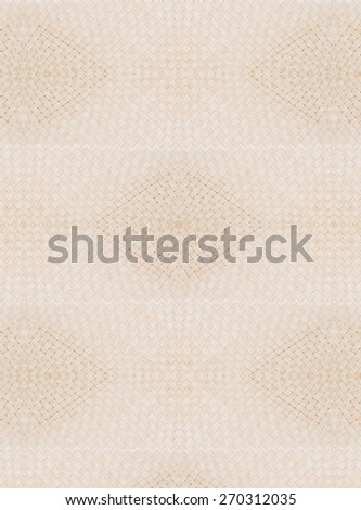 Retro woven wood pattern background  - stock photo