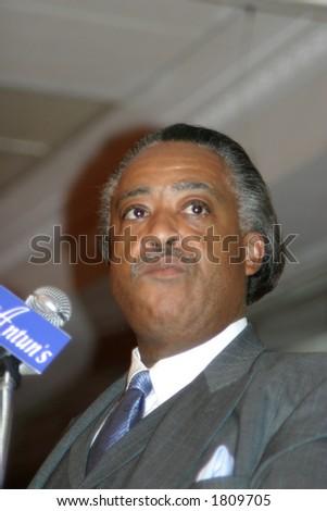 Rev. Al Sharpton - stock photo
