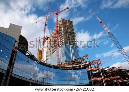 Revel Casino construction site - stock photo