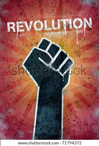 Revolution - stock photo