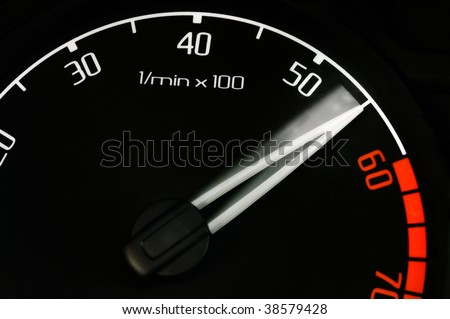 revolution counter tachometer speedup