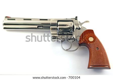 revolver 357 magnum - stock photo