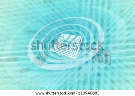 RFID Technology - stock photo