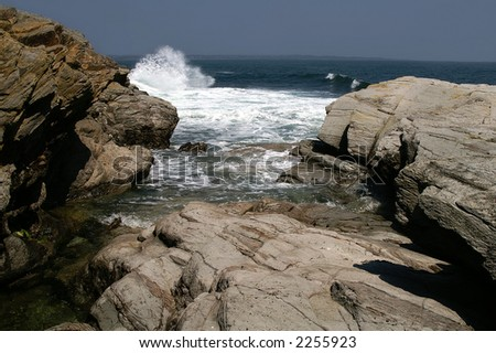 Rhode Island Shoreline - stock photo