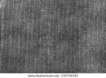 Ribbed corduroy texture background - stock photo