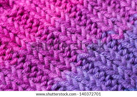Ribbing (Diagonal) - stock photo
