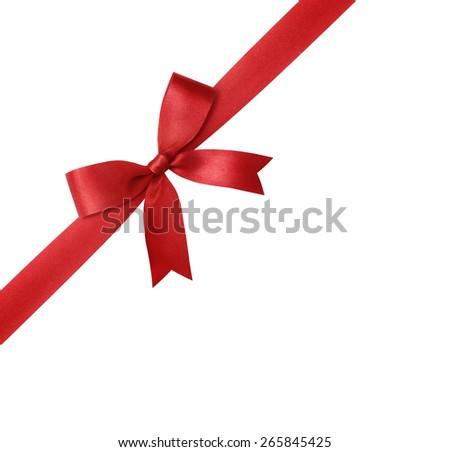 ribbon isolated on white background - stock photo