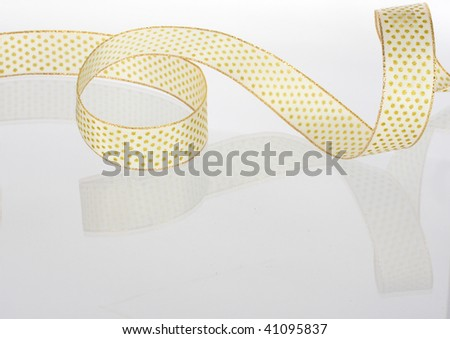 ribbon - waves - mirror - abstract background