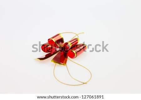 Ribbons Isolated On White Background