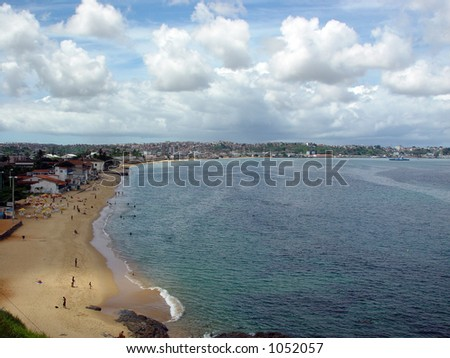 Ribeira Beach, Salvador de Bahia - Brazil - stock photo