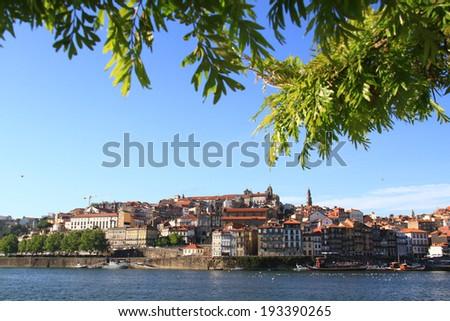 Ribeira do Porto, Portugal - stock photo