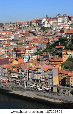 Ribeira - Porto, Portugal - stock photo