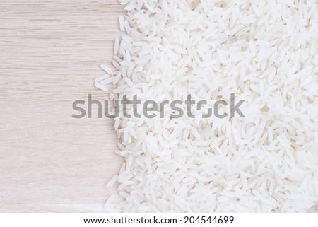 rice - stock photo