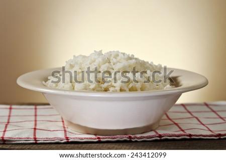 Rice. - stock photo