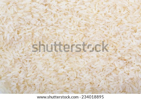 Rice as background