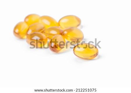 Rice bran and germ oil capsule