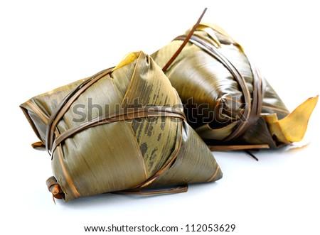 rice dumpling - stock photo