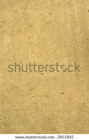 Rice paper with various fibers - stock photo