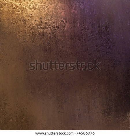 rich dark brown background with warm earth tones and dirty grunge texture - stock photo