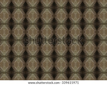 Richly textured seamless pattern which is made out of a fabric - stock photo