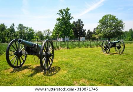 Richmond National Battlefield Park - stock photo